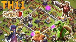 th11 farming base/coc th11 all storage protection farming base 2018/clash of clan