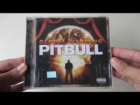 Pitbull - Global Warming ( Album Deluxe Edition ) - Unboxing CD en Español