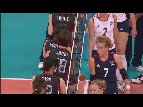 Women's Volleyball Pool A - JPN V GBR | London 2012 Olympics