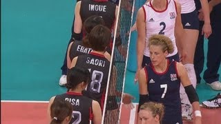 Women's Volleyball Pool A - JPN V GBR | London 2012 Olympics