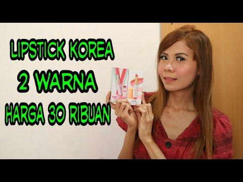 nyobain-lipstick-korea-2-warna-harga-30ribuan