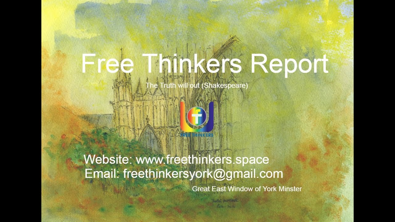 Free Thinkers Report 17 Oct 2020: Planetary Reboot Timeline