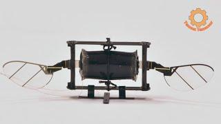Новый робот-насекомое машет крыльями 500 раз в секунду