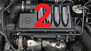 Снятие и установка двигателя Mersedes A класса w169 2.0 CDI (2)