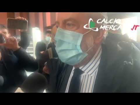 Juventus-Napoli, De Laurentiis dopo l'udienza al CONI: