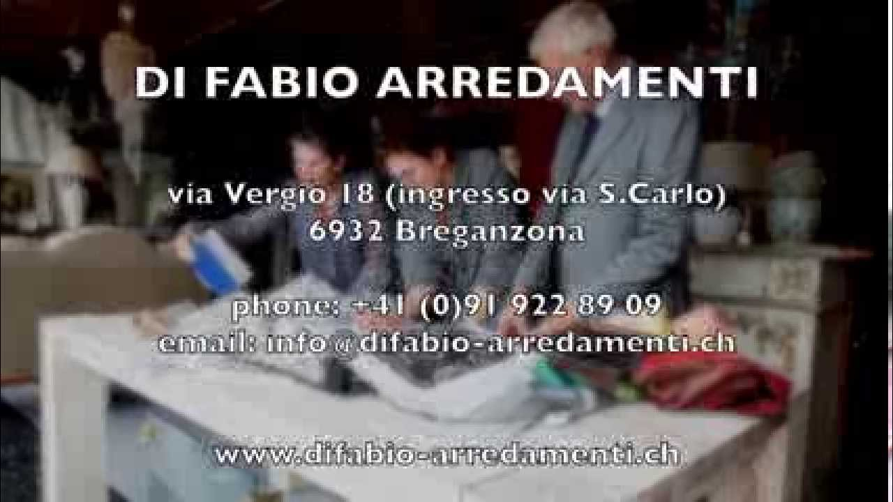 di fabio arredamenti video di presentazione youtube