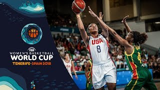 United States v Senegal - Highlights - FIBA Women's Basketball World Cup 2018