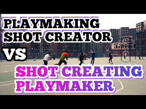NBA 2K18 PLAYMAKING SHOT CREATOR VS SHOT CREATING PLAYMAKER!!!! WHICH ONE IS BETTER??? OP BUILDS😱😎