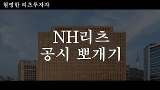 NH리츠 청약, 투자설명서 훑어보기 (NH리츠, 리츠,…