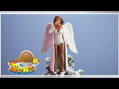 Now beyoncé, hillary clinton, and serena williams can be the angel on your christmas tree
