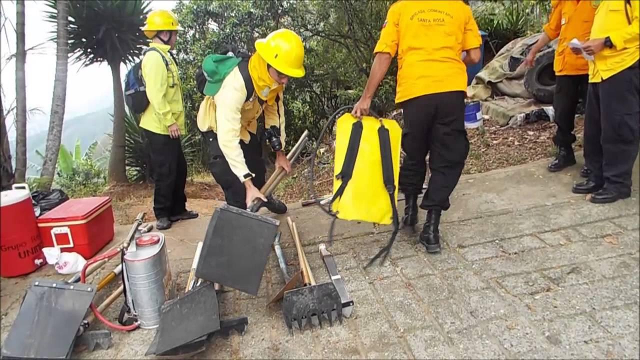 Herramientas para el combate de incendios forestales youtube for Materiales para un vivero forestal