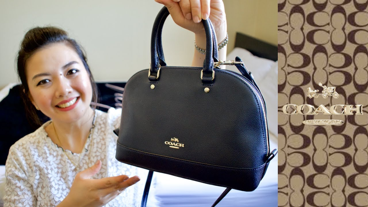 COACH Mini SIERRA SATCHEL BAG REVIEW After 3 Years & What Fits Inside    Pearl Yao