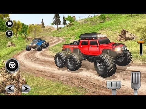 6x6 OFFROAD MONSTER TRUCKS DRIVING SIMULATOR #Free Games To Play #Games For Download #Games For Kids