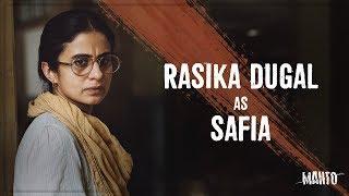 Rasika Dugal as Safia | Manto | In Cinemas This Friday