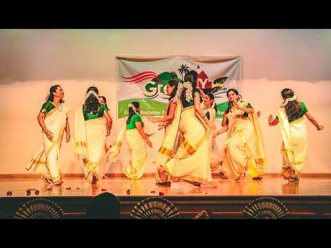 Thiruvathira - Kaithozham Krishna - At GramNY Onam 2018