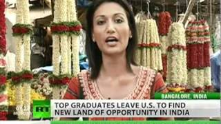 Top American graduates heading to India for employment