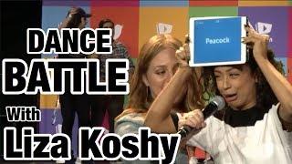 DANCE BATTLE W / LIZA KOSHY & DAVID DOBRIK