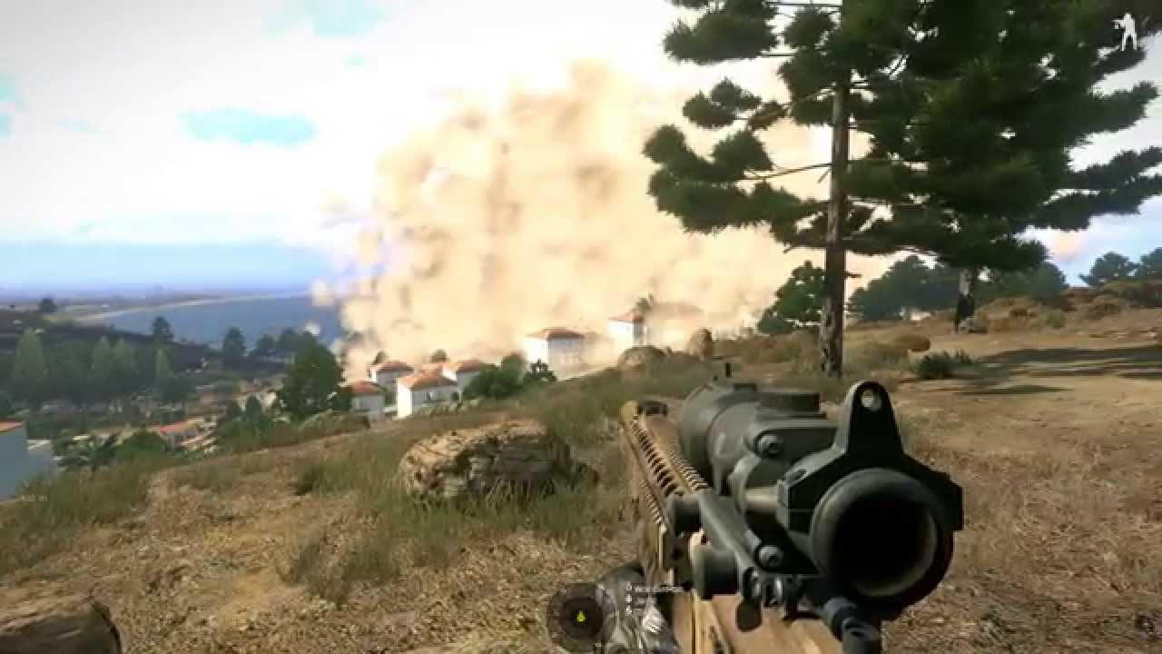 MOAB Bomb ArmA 3