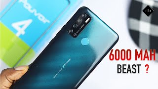 Tecno Pouvoir 4 Unboxing and Review! The Battery King is Back? (English)