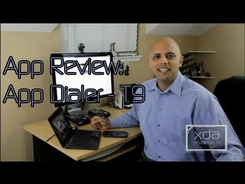 Search for Apps on your Phone T9 Style -- App Review