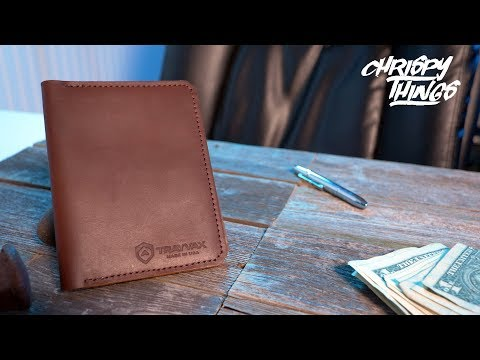 Trayvax Explorer Passport Wallet! Traveling The World In Style!
