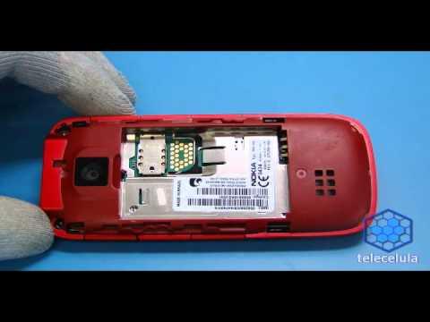 Procedimentos de Desmontagem Nokia 5130-RM495