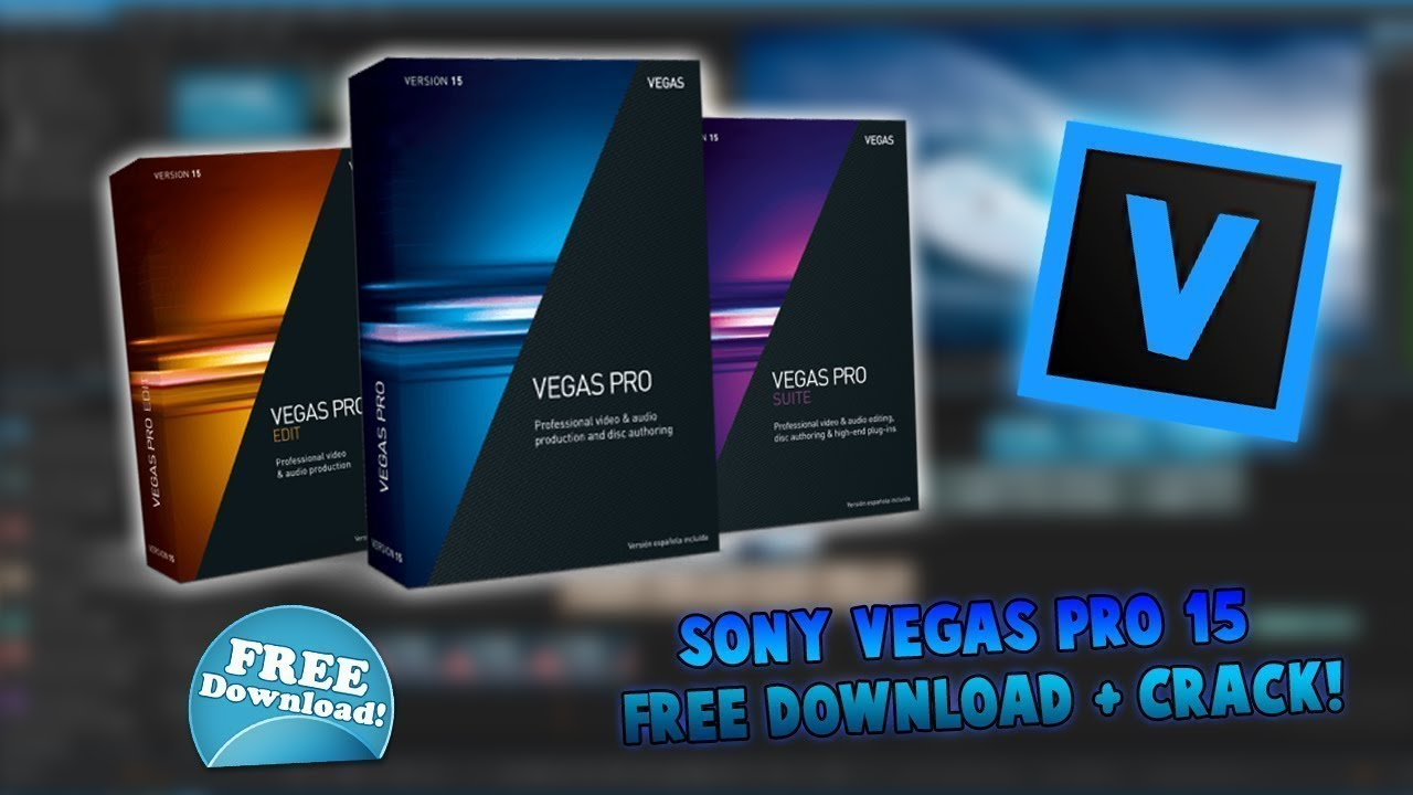 How to get SONY VEGAS PRO 15 for absolutely free!!! (100% working 2018 )