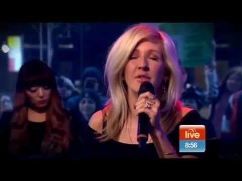 Ellie Goulding - Beating Heart (Live on Sunrise)