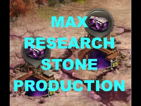 Clash Of Kings - MAX Research Stone Production