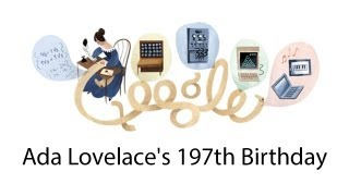 Ada Lovelace: Google Doodle [HD]
