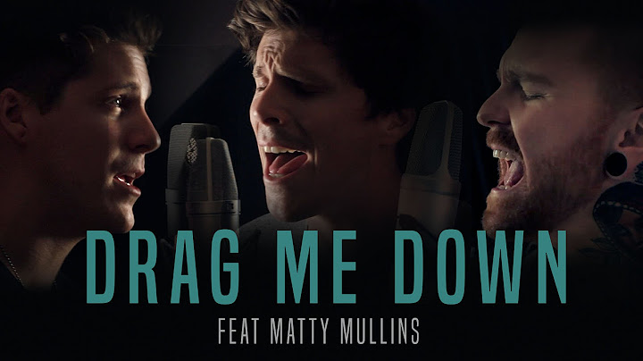 one direction  drag me down cover by our last night ft matty mullins