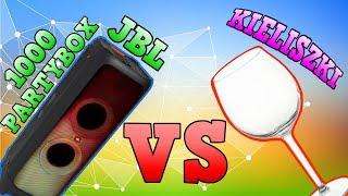 JBL Partybox 1000 🔊 vs 🍷  kieliszki - czy głośnik stłucze szkło? WIELKI FAIL - NIE OGLĄDAĆ!