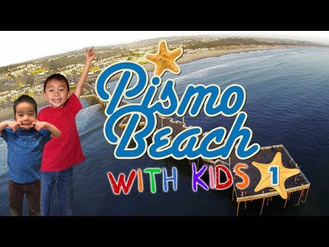 5 Year Old's First Time Surfing (Fun Things to do in Pismo Beach): Travel with Kids