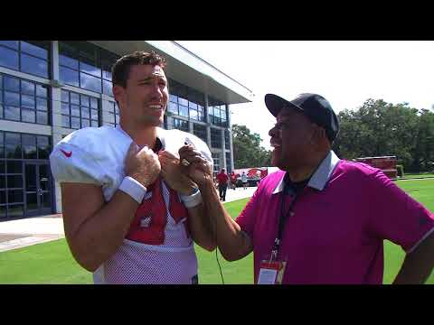 Earl with Cameron Brate