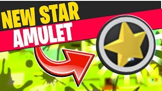 My namoradas NEW GOLD STAR amuleto em Roblox Bee Swarm Simulator