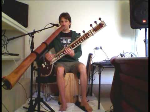 Prosad: Sitar & Didgeridoo Version of the Beatles Song: Within You Without You by George Harrison