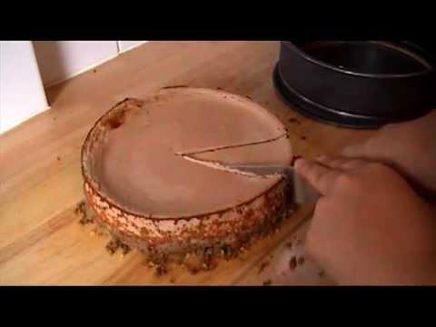Slimming World Baked Chocolate Cheesecake
