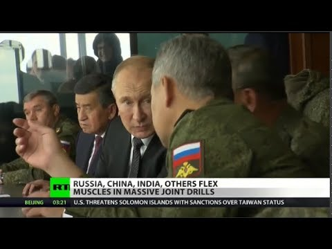 VIDEO: Russia hosts massive military drills with 7 countries