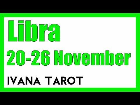 💘 BEAUTIFUL Libra Weekly Reading 20-  26 November 2017 - Ivana Tarot