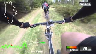 Dalsland XC 60km MTB Race - Full Video - Bengtfors 3/5 2014