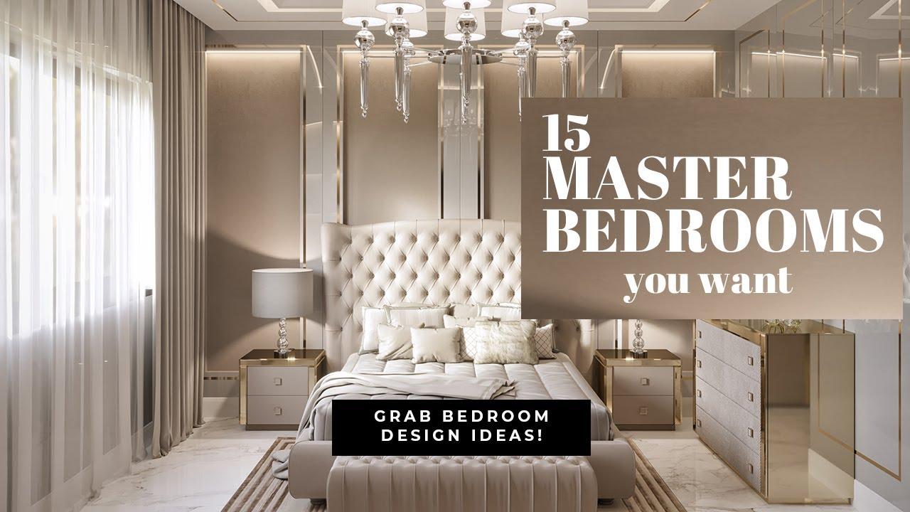 Luxury Master Bedroom Interior Design In Dubai 2020 Spazio