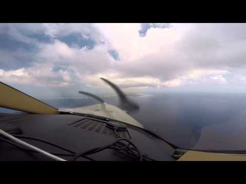 Landing at Owen Roberts International Airport (Grand Cayman) 2/24/2015