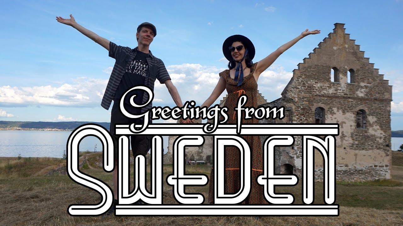 VIRTUAL SWEDEN POSTCARD | Swedish Summer Trip! - YouTube