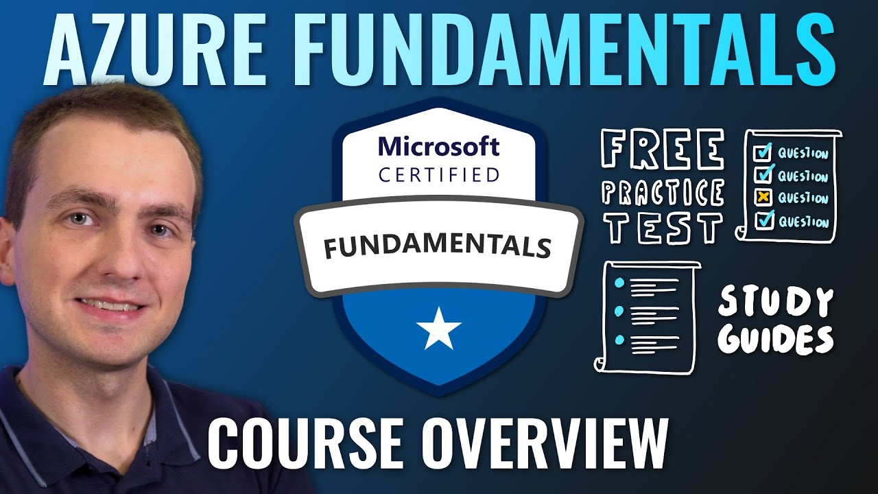 AZ-900 | Microsoft Azure Fundamentals Full Course, Free Practice Tests, Website and Study Guides