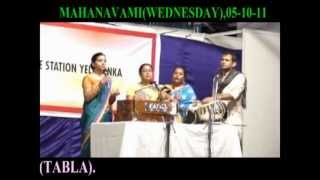 SONG- BONDA  MAA TARAM,(05- 10- 2011) BY ILORA MANDAL GROUP AT AIR FORCE STATION YELAHANKA.