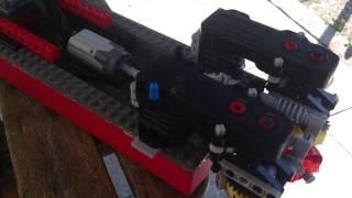 Lego Boot doppelter Schiffsmotor