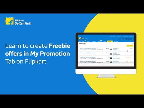 Flipkart Seller Hub - Guide - Creating Freebie offers