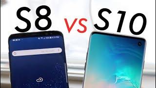 Samsung Galaxy S10 Vs Galaxy S8! (Quick Comparison) (Impressions)
