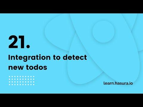 Integration to detect new todos   GraphQL React Native Apollo Tutorial (21/22) thumbnail