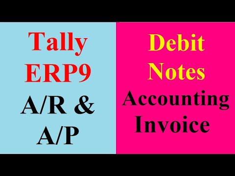 17A Debit Note entry in Invoice Mode - YouTube - debit note and invoice